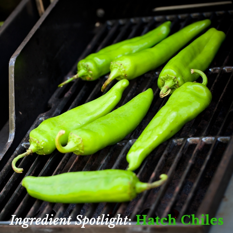 Produce - Summer _ Roasting Hatch Green Chilie