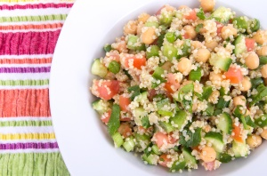 healthy delicious quinoa salad