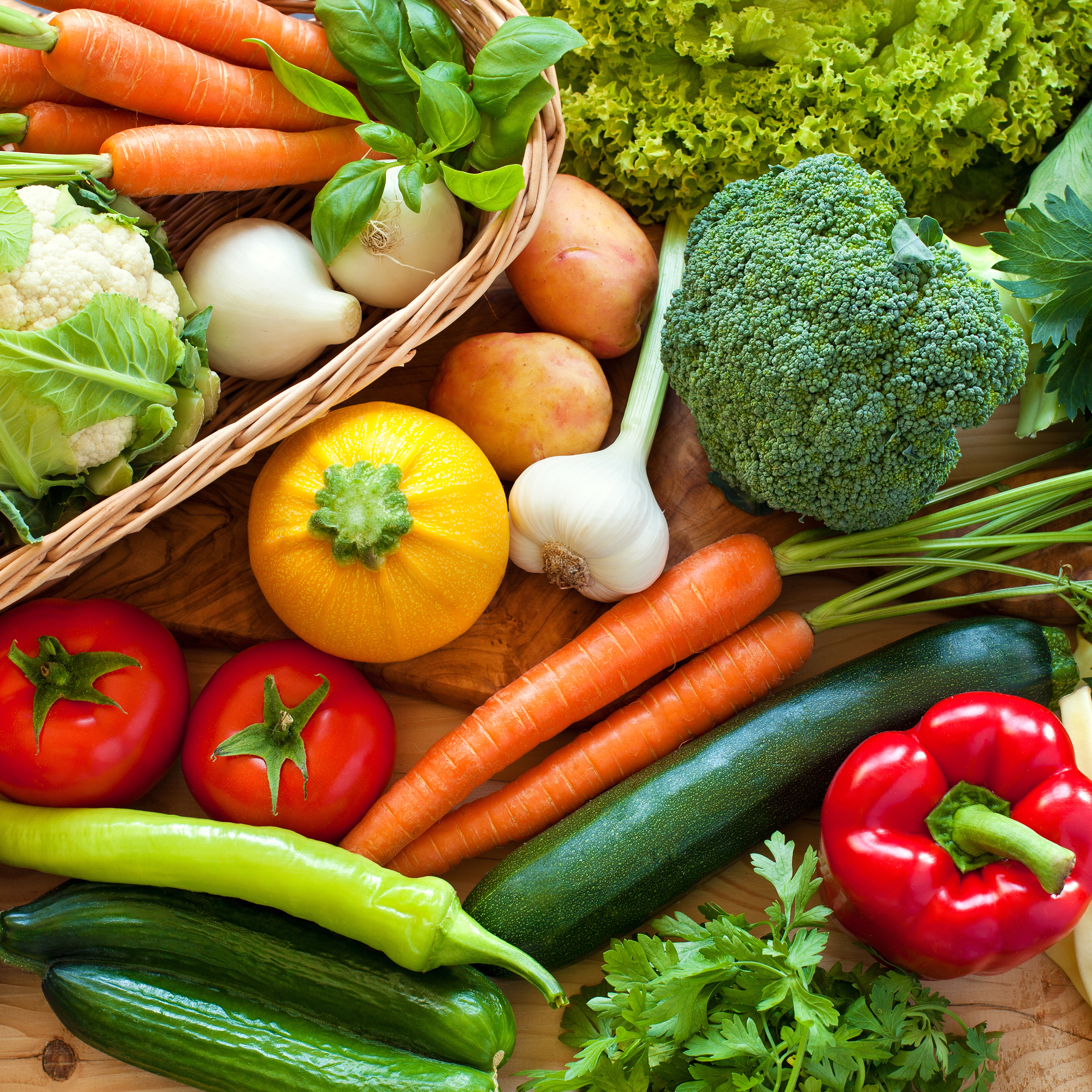 Vegetable organic