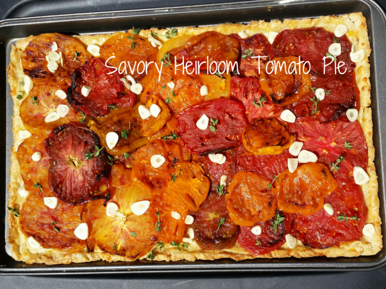 Savory Heirloom Tomato Pie