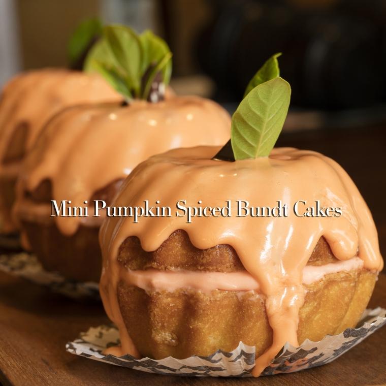 Yummy Mini Pumpkin Bundt Cakes