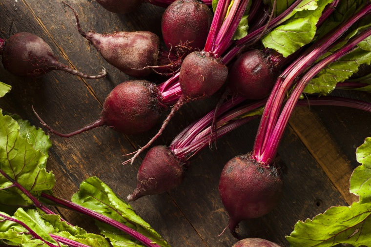 Raw Organic Red Beets