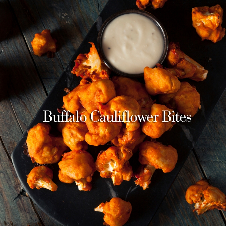 Spicy Breaded Buffalo Chicken Cauliflower