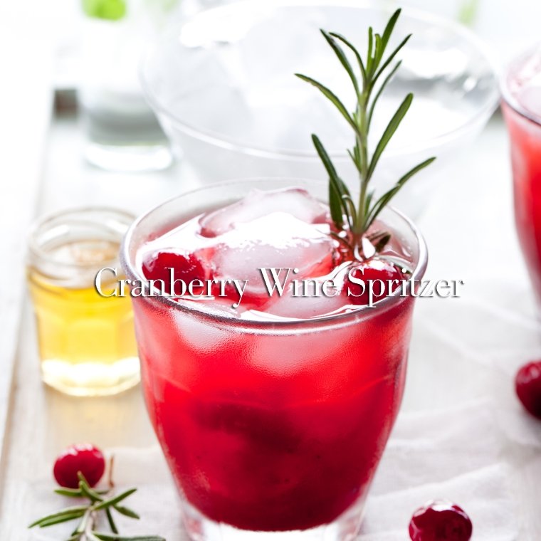 Cranberry, rosemary, gin fizz, cocktail