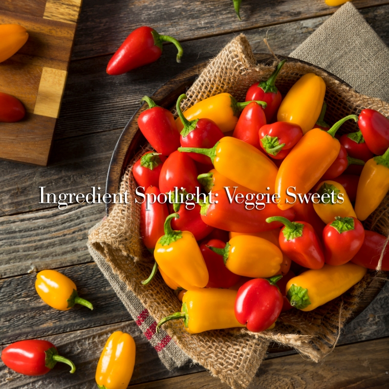 Raw Organic Mini Sweet Peppers