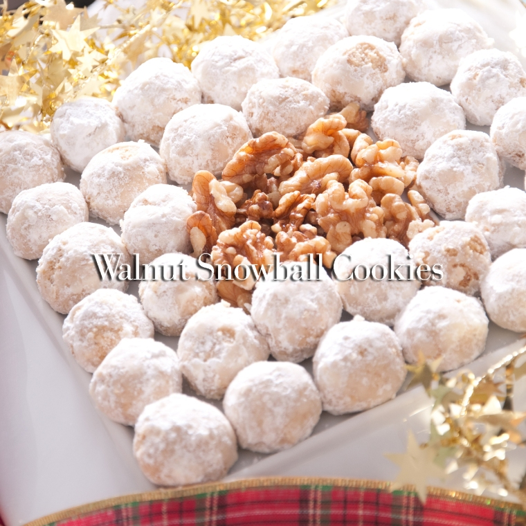 Walnuts and Pastry Balls